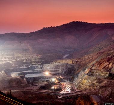Золотоносный рудник г. Тында (Амурская область)